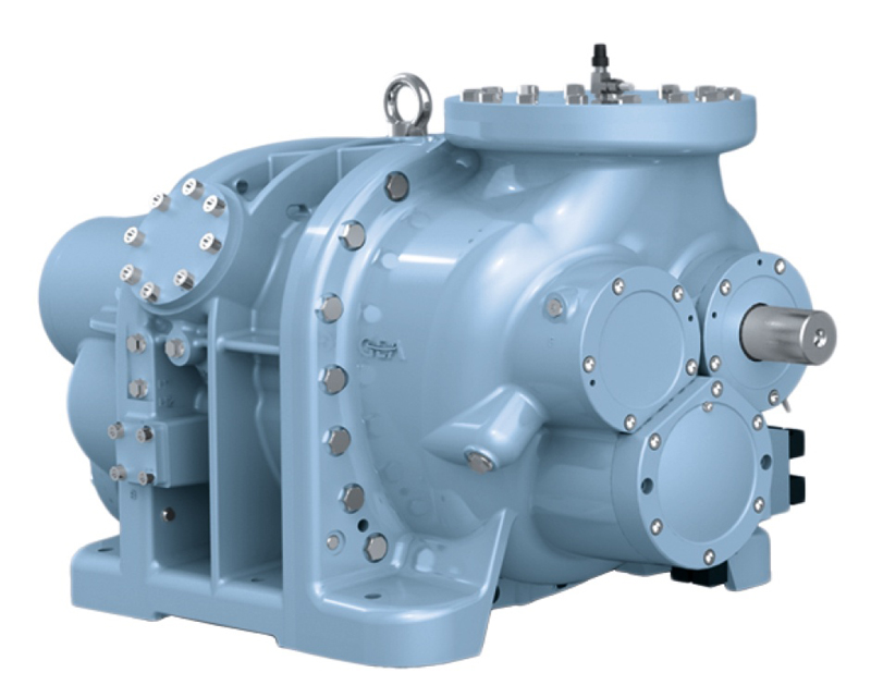 9. GRASSO SCREW COMPRESSOR